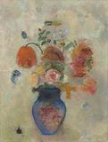 Large Vase with Flowers