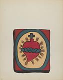 """Sacred Heart: From Portfolio """"Spanish Colonial Designs of New Mexico"""""""