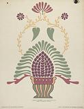 "San Gabriel Mission Priest's Vestment from the portfolio ""Decorative Art of Spanish California"""