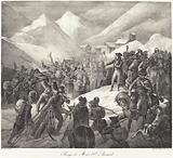 Passage du Mont St Bernard (Napoleon's Army Crossing the St Bernard Pass)
