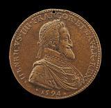 Henri IV, 1553–1610, King of France 1589