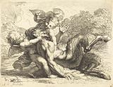 Pan Overcome by Putti