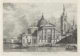 Veduta del Prospetto della Chiesa di S Giorgio Maggiore