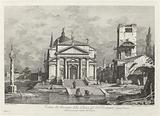 Veduta del Prospetto della Chiesa del SS Redentore