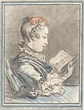 """Young Girl Reading """"Héloise and Abélard"""""""