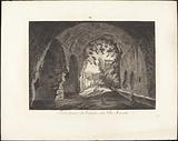 Porta scura o sia entrata nella villa Mecenate
