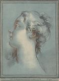Head of a Young Woman Facing Left