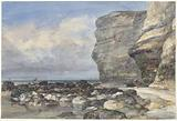 The Rocky Beach and Cliffs at Fécamp