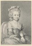 Mademoiselle Grogniard, Dame de Saint-Just