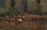 Sketch of a Cottage Yard