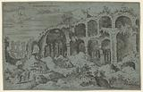 Colossaei. Ro. Prospectus. 3 (Third View of the Colosseum in Rome).