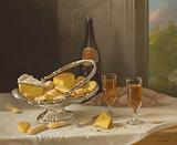 Still Life with Silver Cake Basket