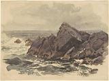 Seascape with Rocks