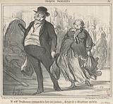 Mr et Mme Prudohomme revenant de la foire …