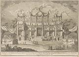 The Seconda Macchina for the Chinea of 1770: The Fish Market Portico