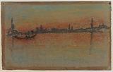 Venice: Sunset on Harbour