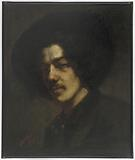 Portrait of Whistler with a Hat