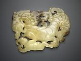 Plaque in the form of a dragon