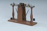 1842 Greenough's Patent Model of a Sewing Machine