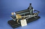 Baldwin's Patent Model of a Flexible Beam Locomotive – ca 1842
