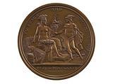 Diplomatic Medal, United States, 1876 (US Mint copy dies)