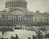 President Roosevelt taking the oath of office, Mar