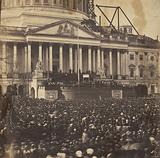 Inauguration of Mr Lincoln, March 4, 1861