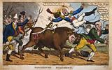 Manchester bull-hunt
