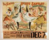 The famous Rentz Santley Novelty and Burlesque Co first time in America: the sensational scene, gay life in Paris, …