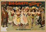 Rice and Barton's Big Gaiety Spectacular Extravaganza Co Date c1899