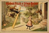 "George Felix & Lydia Barry in ""The vaudeville craze"""