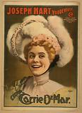 Joseph Hart Vaudeville Co direct from Weber & Fields Music Hall, NY Date c1899