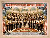 Wm. H West's Big Minstrel Jubilee (formerly of Primrose & West)