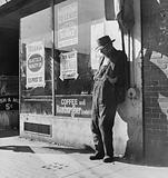 """Skid Row."" Howard Street, San Francisco, California"