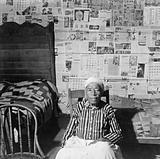 Mulatto ex-slave in her house near Greensboro, Alabama