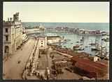 The harbour and admiralty, Algiers, Algeria