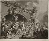 The plundering of the King's cellar, Paris, 10th August, 1793