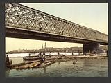 Railway bridge, Riga, Russia, (ie Latvia)