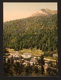 Le Cantal, le Lioran, hotels, Auvergne Mountains, France