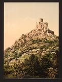 Le Cantal, Chateau de Leoting, near Blesle, Auvergne Mountains, France