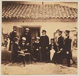 Rev. HP Wright, principal chaplain to the forces in the Crimea & Reverend Messieurs Wallace, Sykes, Parson, HA Taylor, …