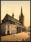 St Gertrude Church, Louvain, Belgium