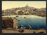 The harbor, Marseilles, France
