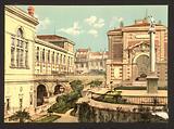 Conservatoire de musique et la bibliotheque, Marseilles, France