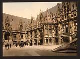 Palais de Justice, Rouen, France