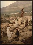 The well of the samaritan (Shechem), Napulus, Holy Land, (ie Nablus, West Bank)