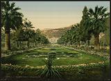 Casino entrance, the gardens, Monte Carlo, Riviera