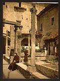 Cortile della farmacia de Franciscani, Ragusa, Sicily, Italy