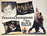 Douglas Fairbanks in the black pirate