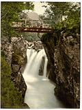 Lower fall, Glen Nevis, Fort William, Scotland